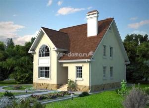 Проект каркасного дома 16