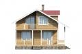 Проект каркасного дома 20-f1