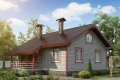 Проект каркасного дома 25