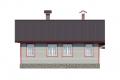 Проект каркасного дома 25-f4