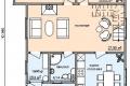 Проект каркасного дома 26-1