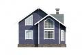 Проект каркасного дома 34-f1