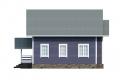 Проект каркасного дома 34-f4