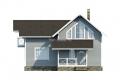 Проект каркасного дома 36-f1