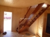 Лестница на 2 ой этаж бани