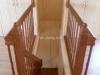 Межэтажная лестница в бане