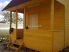 Веранда дачного дома