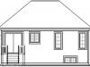 Проект каркасного дома 10-f1