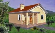 Проект каркасного дома 12