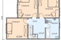 Проект каркасного дома 17-2