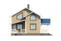 Проект каркасного дома 17-f1