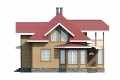 Проект каркасного дома 18-f1