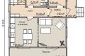 Проект каркасного дома 20-1