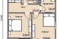 Проект каркасного дома 20-2