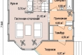 Проект каркасного дома 21-1