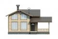 Проект каркасного дома 22-f1