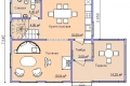 Проект каркасного дома 22-1