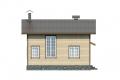 Проект каркасного дома 22-f4