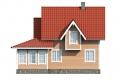 Проект каркасного дома 24-f2