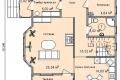 Проект каркасного дома 27-1