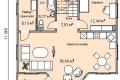 Проект каркасного дома 30-1