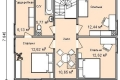 Проект каркасного дома 30-2