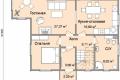 Проект каркасного дома 33-1