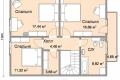 Проект каркасного дома 33-2