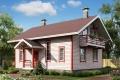 Проект каркасного дома 33-0
