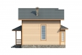 Проект каркасного дома 35-f2