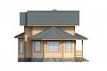 Проект каркасного дома 35-f4