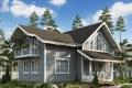 Проект каркасного дома 36