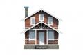 Проект каркасного дома 37-f1