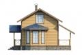 Проект каркасного дома 38-f1