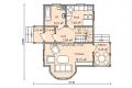 Проект каркасного дома 38-1