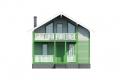 Проект каркасного дома 39-f1