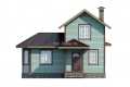 Проект каркасного дома 40-f1