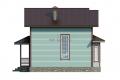 Проект каркасного дома 40-f2