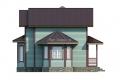 Проект каркасного дома 40-f4