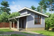 Проект каркасного дома 05