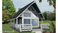 Проект каркасного дома 06